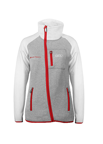 Audi Sport Sweatshirt Jacket - Ladies Image
