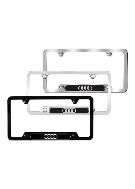 Audi collection - Audi rings license plate frame