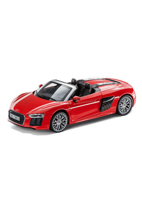R8 Spyder V10 1 18 Scale Model Image