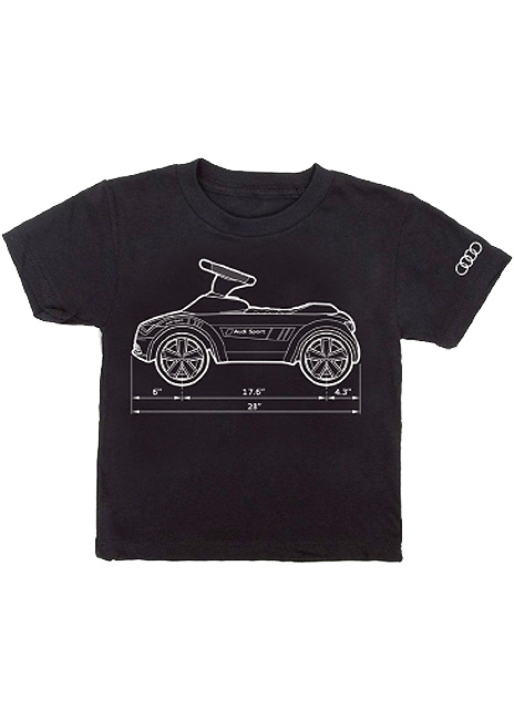 Audi Sport Measurements Tee - Youth
