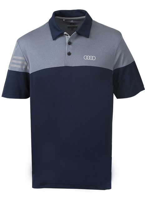 Adidas Heather Sport Polo - Mens Image