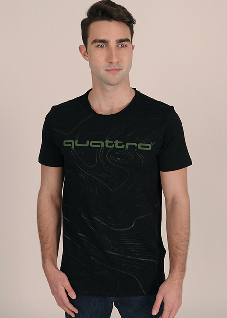 quattro Topography T-Shirt Image