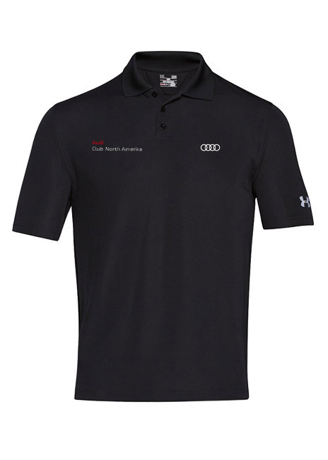 Audi Club Under Armour Performance Polo - Mens
