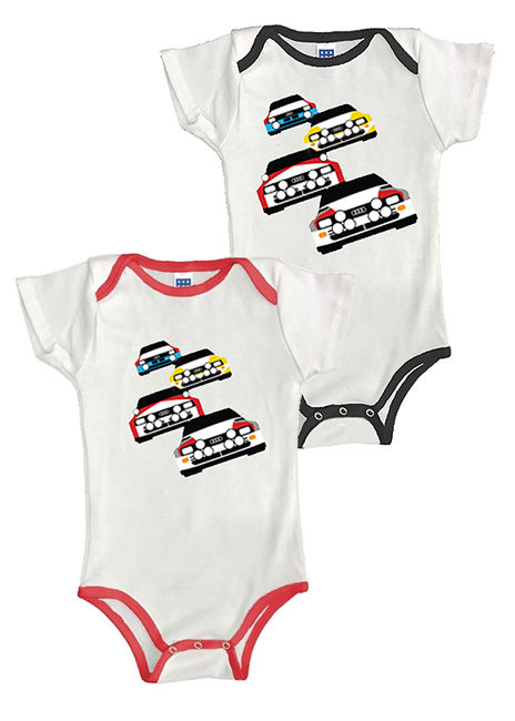 Rally Car Onesie Image