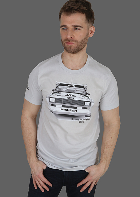 quattro S1 Rally Tee - Men's Image