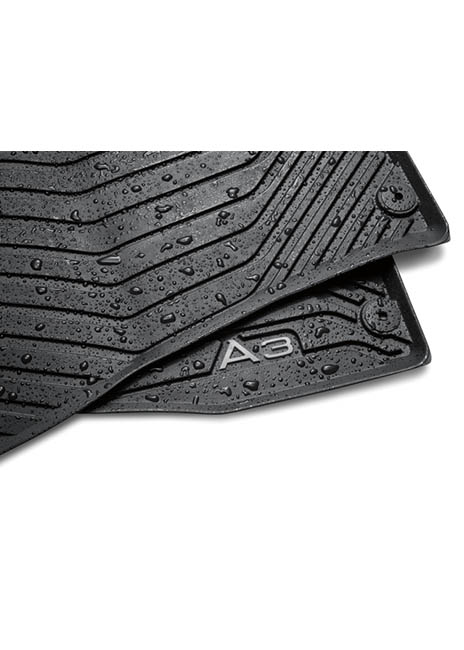 All-Weather Floor Mats (Rear) - A3 Image