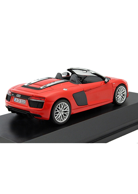 R8 Spyder 1:43 Scale Model Image