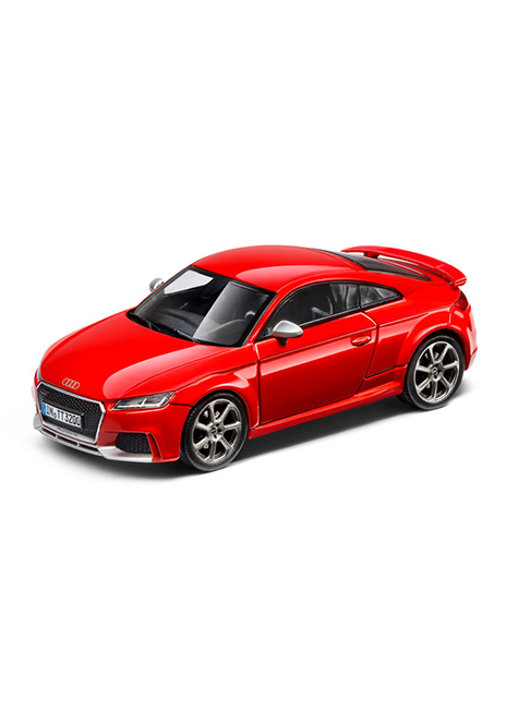 TT RS Coupe 1 43 Scale Model Image