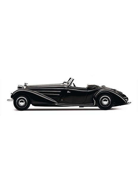 Horch 855 Special Roadster Scale Model Image