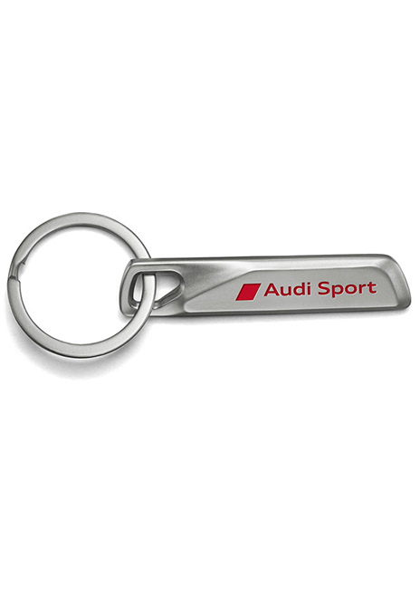 Audi Sport Stainless Steel Key Ring Image