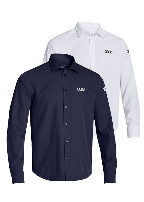 Under Armour Long Sleeve Button Down - Mens Image