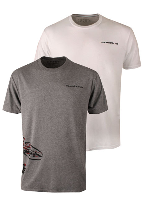 quattro Gecko Wraparound T-Shirt - Men's