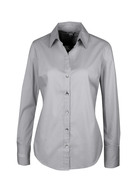 Calvin Klein Stretch Woven Shirt - Ladies Image
