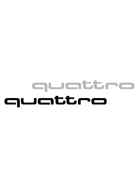 quattro Decorative Film