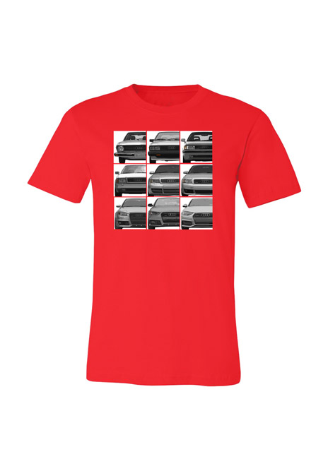 Audi B Evolution T-Shirt - Youth Image